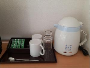 Coffee and tea-making facilities at Best Western Yamagata-airport