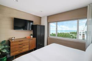 A television and/or entertainment center at Nautilus by Arlo