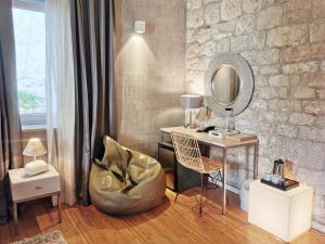 A seating area at Hotel San Giorgio