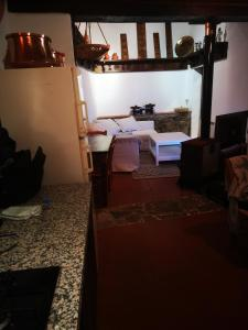A bed or beds in a room at Antigone's House