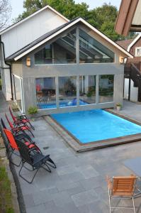 The swimming pool at or near Bergsäter Bed & Breakfast
