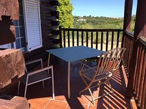 Uma varanda ou terraço em Quinta da Paz