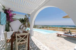 The swimming pool at or close to Phoenicia Naxos