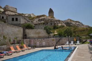 The swimming pool at or close to Grand Elite Cave Suites