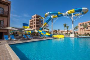 The swimming pool at or near Albatros Aqua Park Resort - Families and couples only