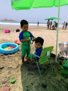 Children staying at Asiasoleil