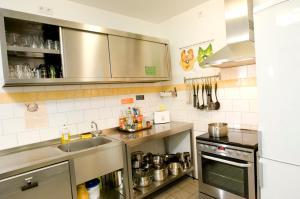 Küche/Küchenzeile in der Unterkunft Townside Hostel Bremen