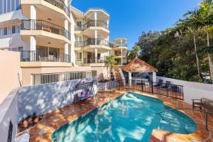 The swimming pool at or near Parkshores Sunshine Beach Noosa Holiday Apartments