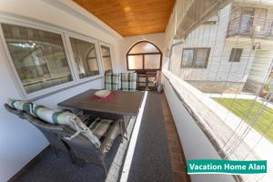A balcony or terrace at Vacation home Alan
