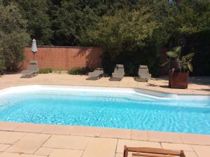 The swimming pool at or near Le Bois De La Cour
