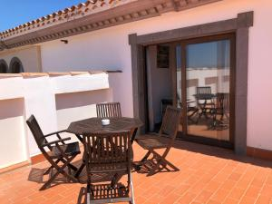 A balcony or terrace at Cotillo Ocean View