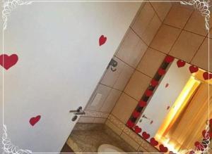 A bathroom at Hotel Santa Maria Madalena