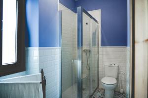 A bathroom at Casa Rural Villa San Juan