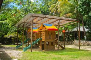 Children's play area at Hotel Chan-Kah Resort Village Convention Center & Maya Spa