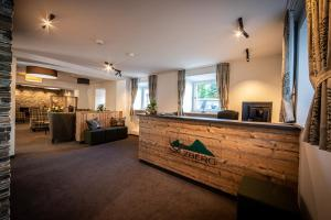 Lobby/Rezeption in der Unterkunft HomeHotel Salzberg