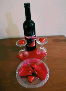 Drinks at Minaides Hotel