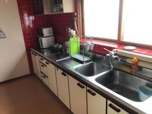 ステイ@釧路にあるキッチンまたは簡易キッチン