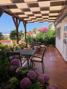 A balcony or terrace at Villa Gloria