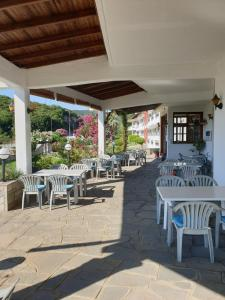 A restaurant or other place to eat at Hotel Ermioni