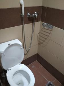 A bathroom at Pella Inn Hostel