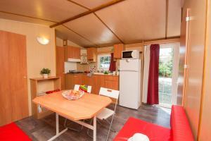 Dining area in the campsite