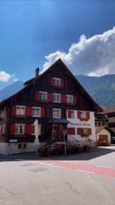 Gasthaus Rössle im Winter