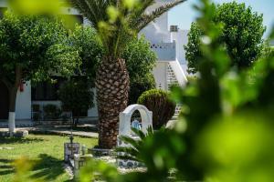 Jardín al aire libre en SKYROS AVRA Residences