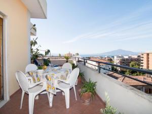 A balcony or terrace at Locazione Turistica Top Floor