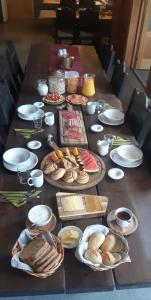 Frokost for gjester på Gargia Lodge