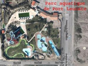 A bird's-eye view of Rental Apartment Les Zodiaques 2