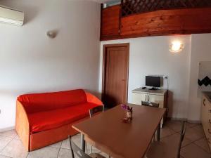 Posezení v ubytování Appartamenti Marina Maria