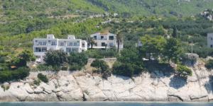 Letecký snímek ubytování Apartments Tri Palme