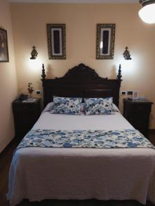 Cama o camas de una habitación en Pazo Xan Xordo