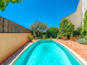 The swimming pool at or near Cozy Holiday Home in Cogolin with Private Pool
