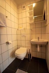 Ein Badezimmer in der Unterkunft Haus Kinspergher