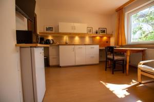 Küche/Küchenzeile in der Unterkunft Haus Kinspergher