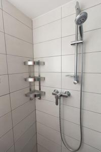A bathroom at Downtown Apartments Pula