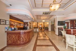 Лобі або стійка реєстрації в Antis Hotel-Special Category