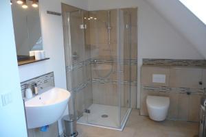 Ein Badezimmer in der Unterkunft Flat39