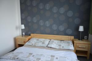 Postel nebo postele na pokoji v ubytování Penzion Fryšava