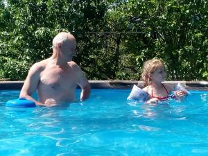 The swimming pool at or near Goryanka