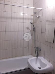 A bathroom at Апартаменты на Юбилейном пр 78