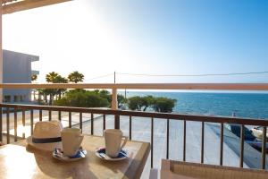 A balcony or terrace at The Wave