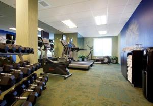 The fitness center and/or fitness facilities at SpringHill Suites Phoenix Downtown
