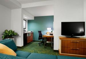 A television and/or entertainment center at SpringHill Suites Phoenix Downtown