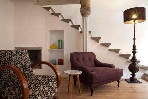 A seating area at Casa Fabbrini Boutique B&B