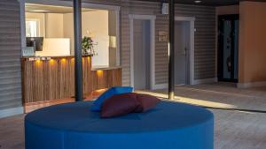 Säng eller sängar i ett rum på Hotell Klövsjöfjäll