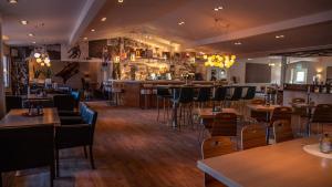 En restaurang eller annat matställe på Hotell Klövsjöfjäll