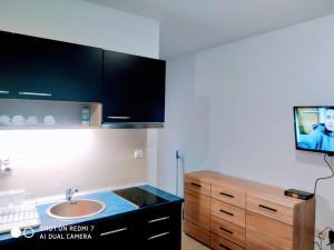 Koupelna v ubytování Blue Marine Ap 26