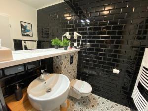 Kúpeľňa v ubytovaní B&B ALIBI